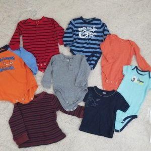 18m Longsleved shirt bundle